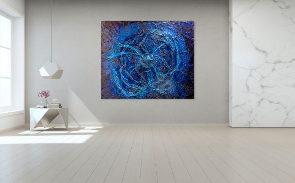 Infinity of the Universe - 200 x 180 cm