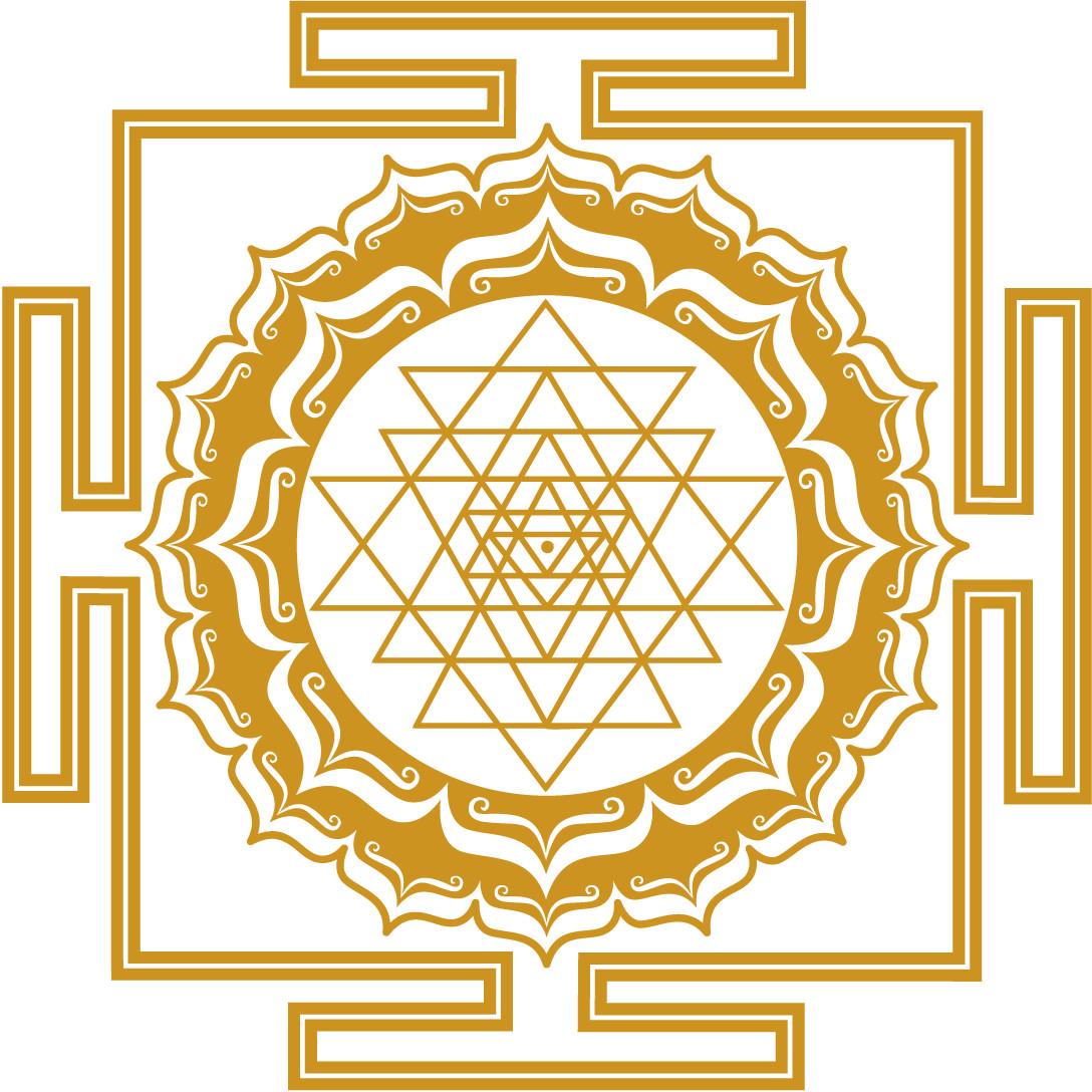 Shri-Yantra-Bild