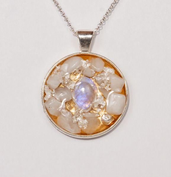 Prana Amulett Luna (Silber)