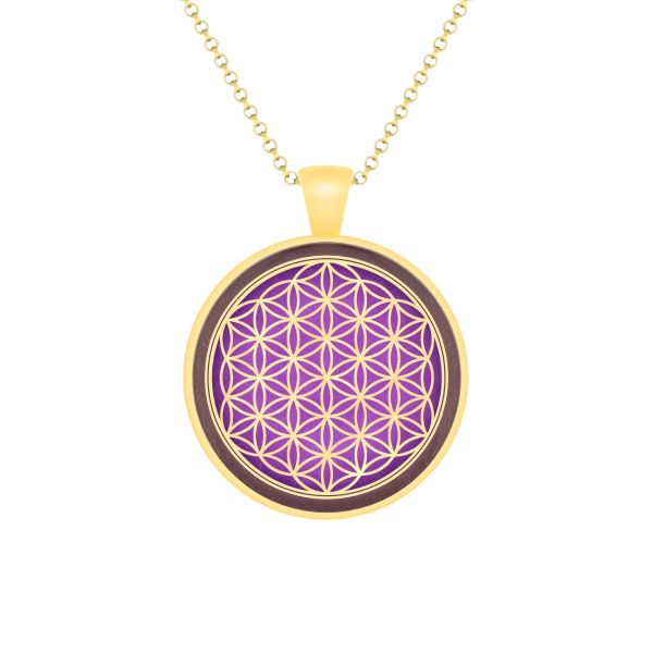 Prana Amulett Blume des Lebens