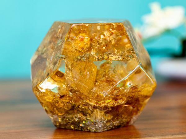 Pranakristall® Dodekaeder Metatron