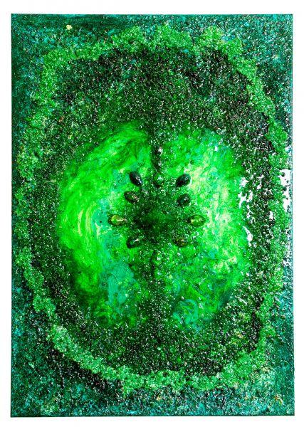 Erzengel Raphael - 70 x 100 cm