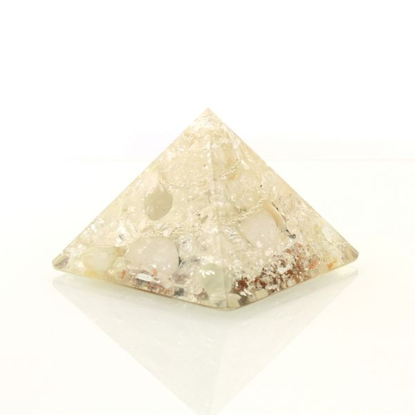 Pranakristall Mondlicht - Orgonite Pyramide von Oz Orgonite