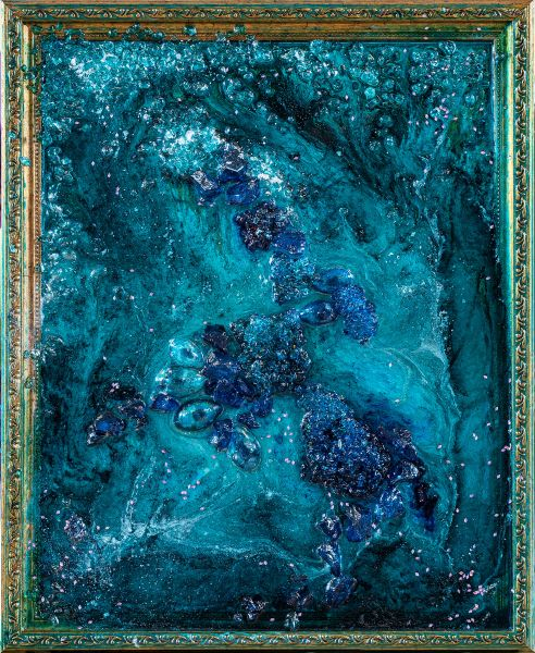 Aquana Mirror - 45 x 55 cm
