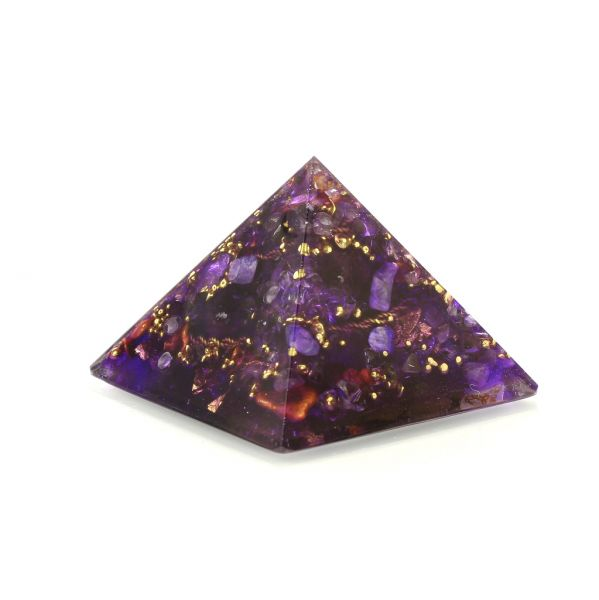 Pranakristall Transformation - Orgonite Pyramide von Oz Orgonite
