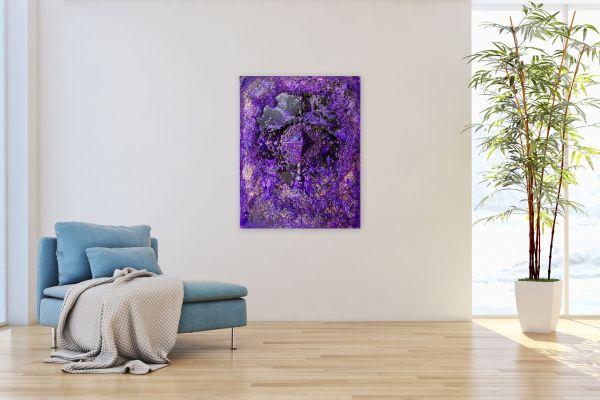 Zadkiels Herzen - 80 x 60 cm