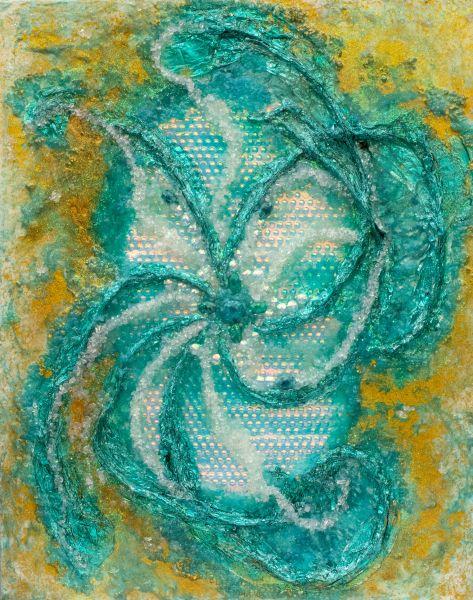 Erzengel Jophiel - 80 x 100 cm