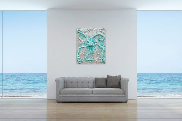 Erzengel Gabriel - 80 x 100 cm