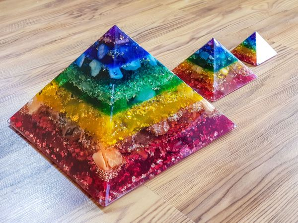 Pranakristall® Regenbogenlicht XXXL (bunt)