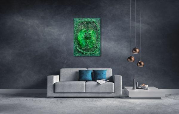 Erzengel Raphael - 70 cm x 100 cm
