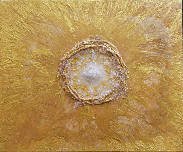 Gottes Licht - 120 x 120 cm