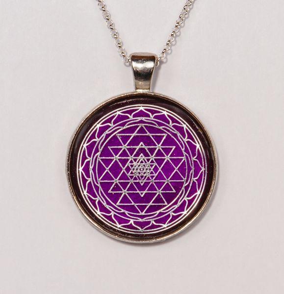 Prana Amulett Shri Yantra (Silber)