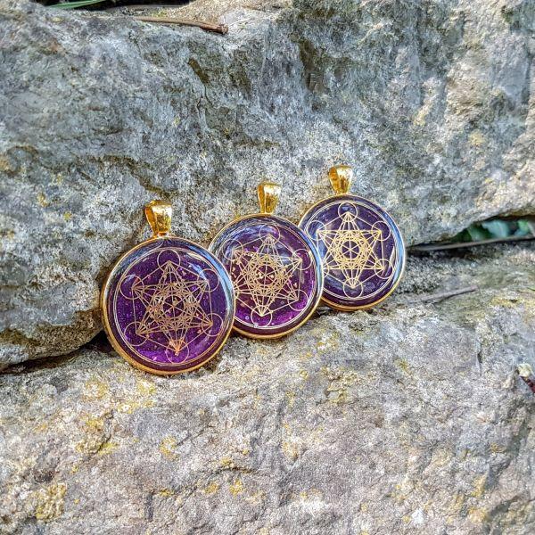 Prana Amulett Metatron Gold (Fundgrube)
