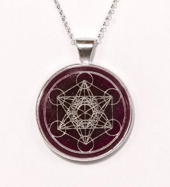 Prana Amulett Metatron (Silber)